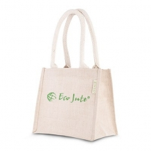 Jute bag Junior - ca. 200x220x130 mm