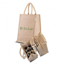 Jute tas Multifunctional - ca. 380x275x195 mm